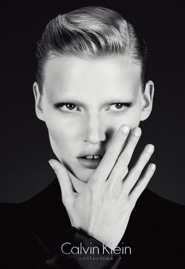 Lara Stone Calvin Klein Collection Fall-Winter 2010 Ad Campaign
